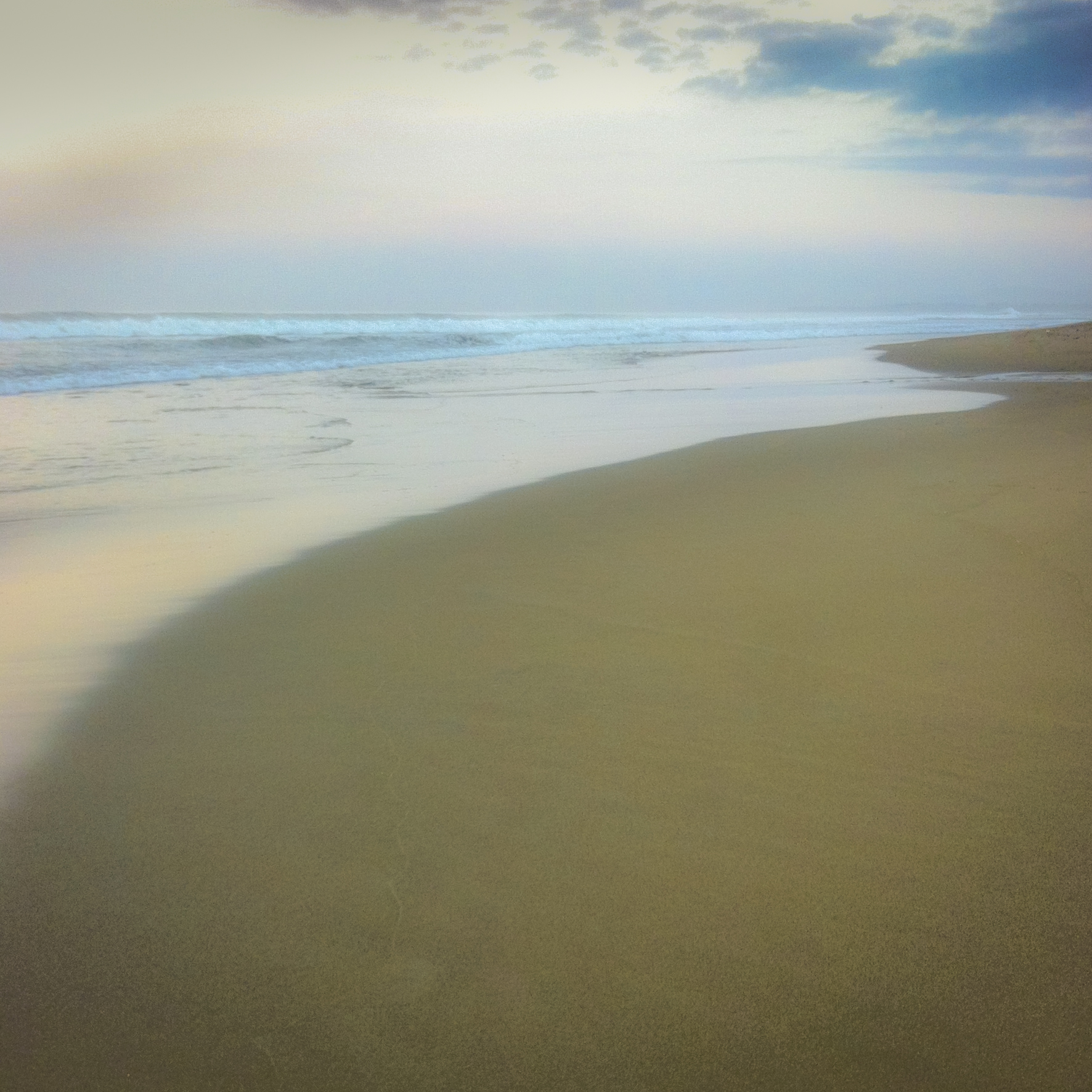Tidal movement on the beach - ebb and flow of life.  Endings and new beginnings.