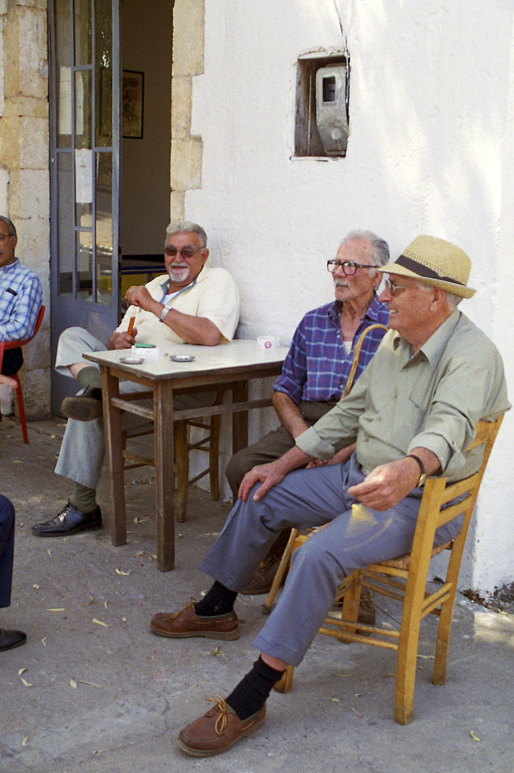 Greece, Crete, local men