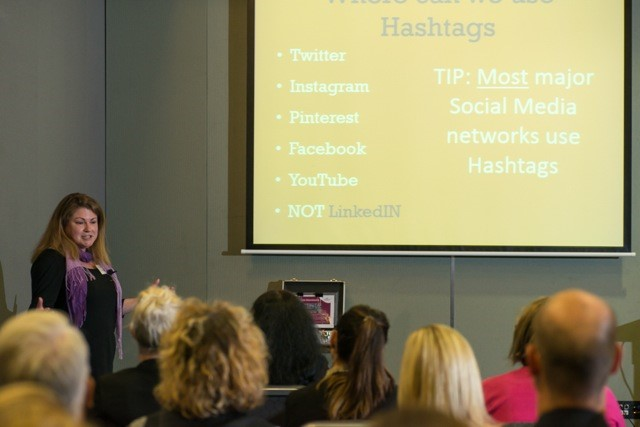 Tania speaking at the South Australian Tourism Industry Council Annual Conference