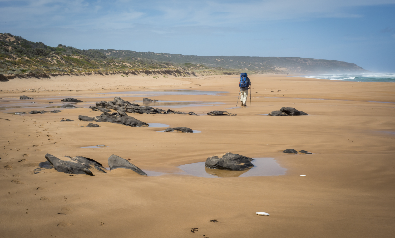 And another beach. Waitpinga.I love beach walking - especially when it's harder sand.