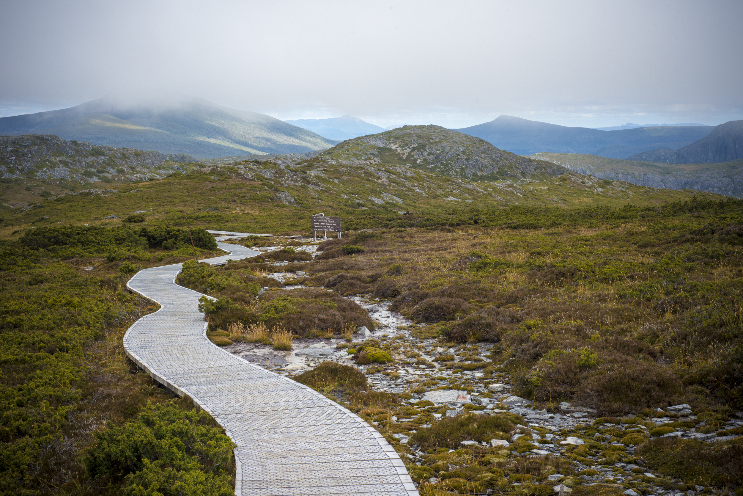 Part of the Overland Track, Cradle Mountain, Tasmania