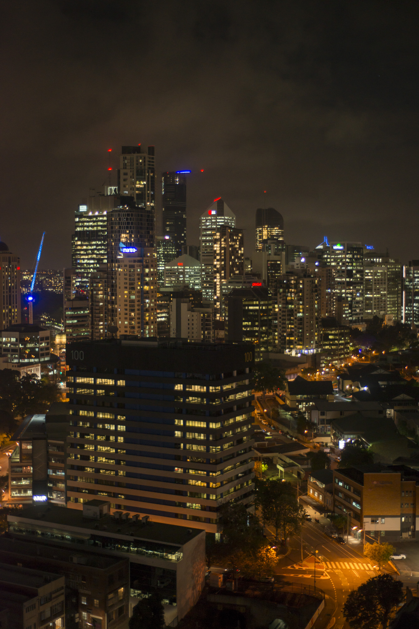 Going to sleep with this view from FV by Peppers in Fortitude Valley