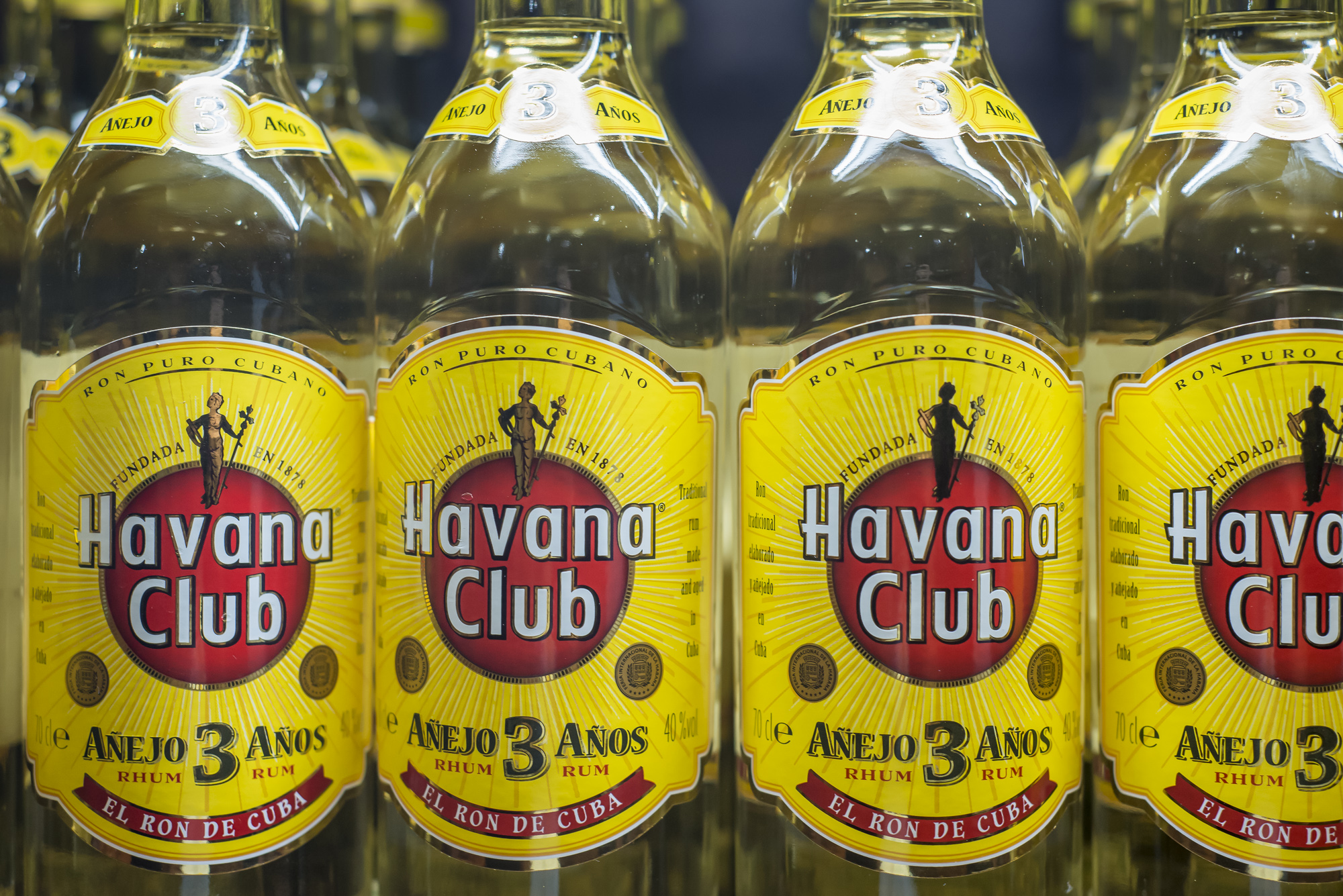 Just one type of Havana Club - easier to get than water some days
