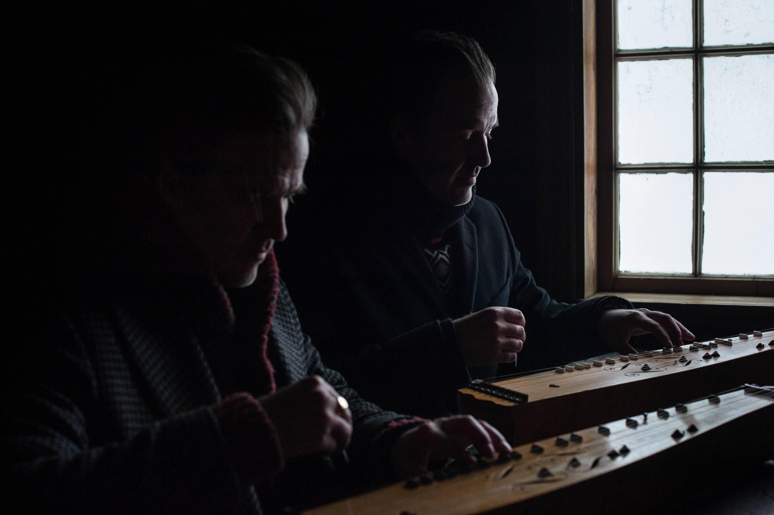 Ole og knut Aastad Bråten - foto:Alexander Andersen