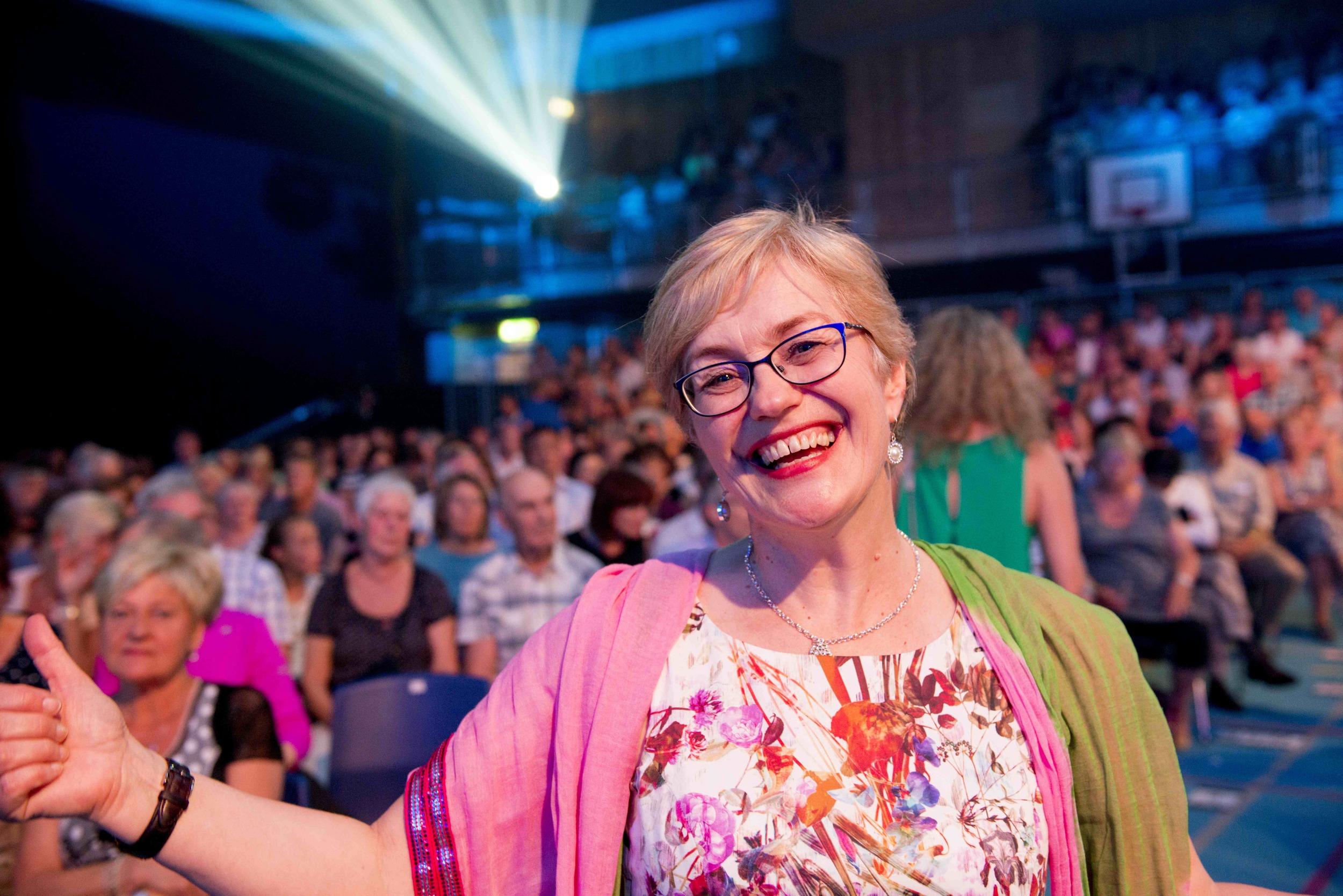 Festivaldirektør Hilde Bjørkum foto av Arve Ullebø.jpg