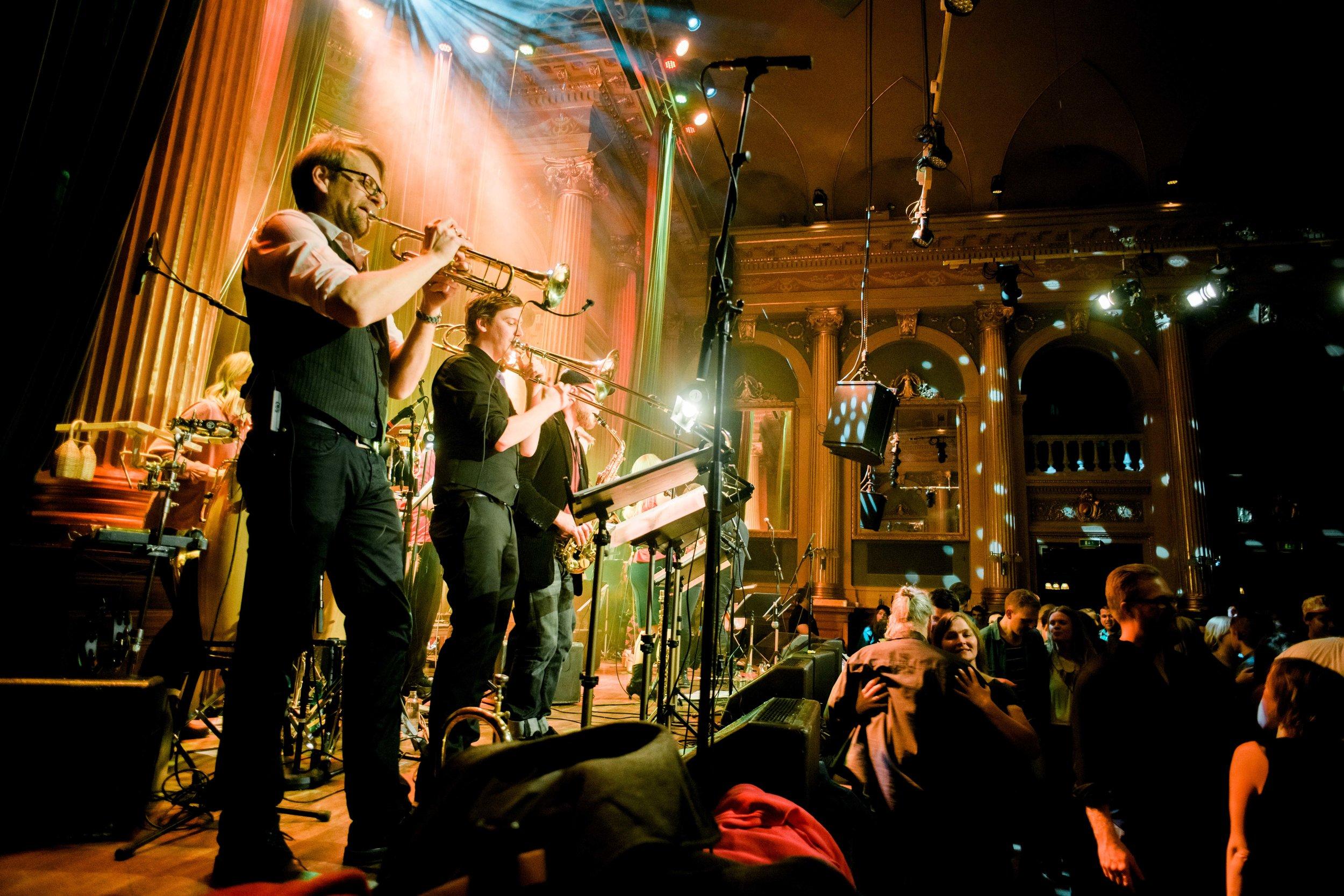 Folk All-in Band er Karl-Johan Ankarblom sitt folkemusikk-storband vil ha eigen konsert under festivalen, i tillegg til å vere med i det store Nordic Sound Folk Orchestra.