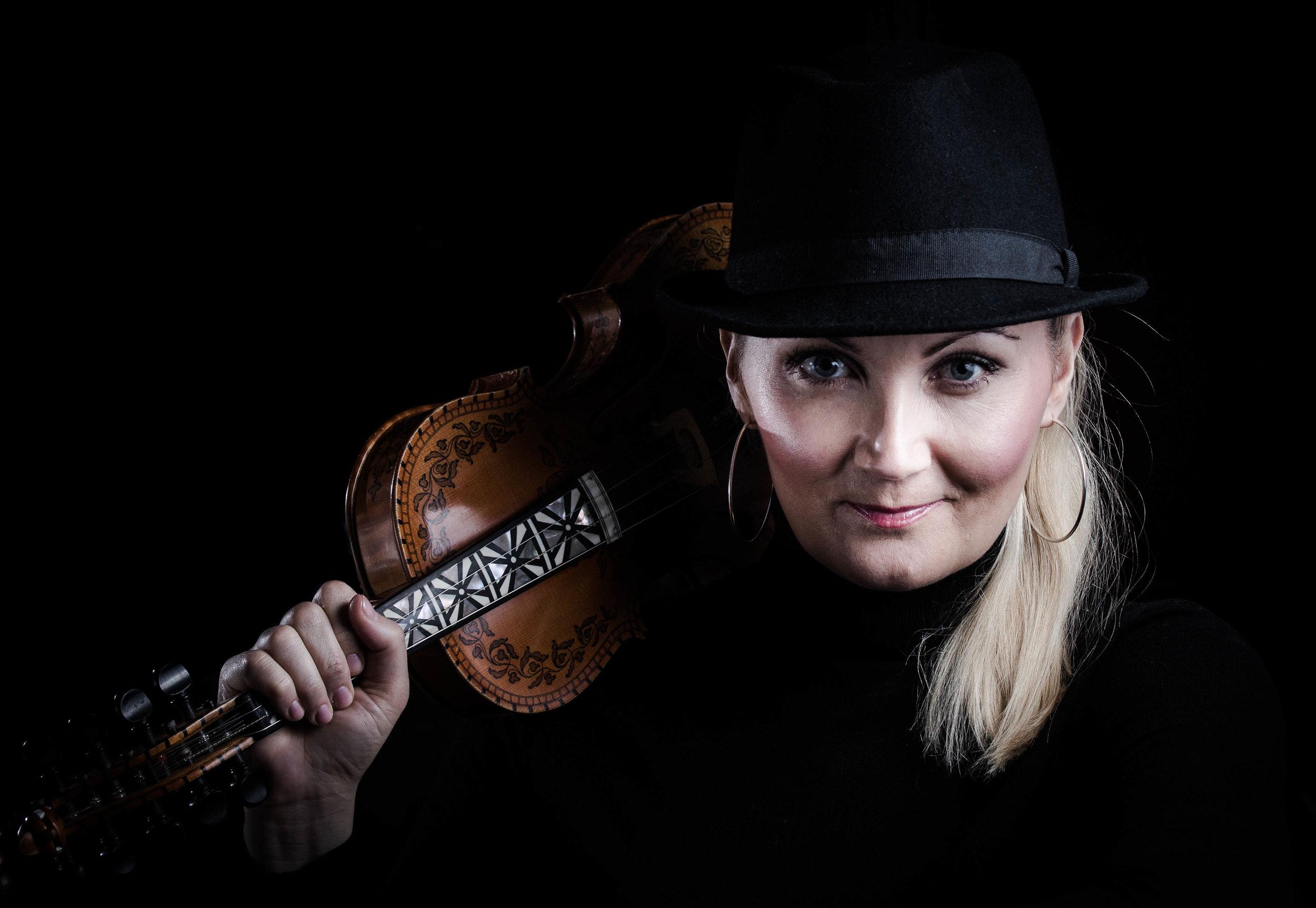 Sigrid Moldestad og vener spelar på festivalen. Foto: Kil Bakken
