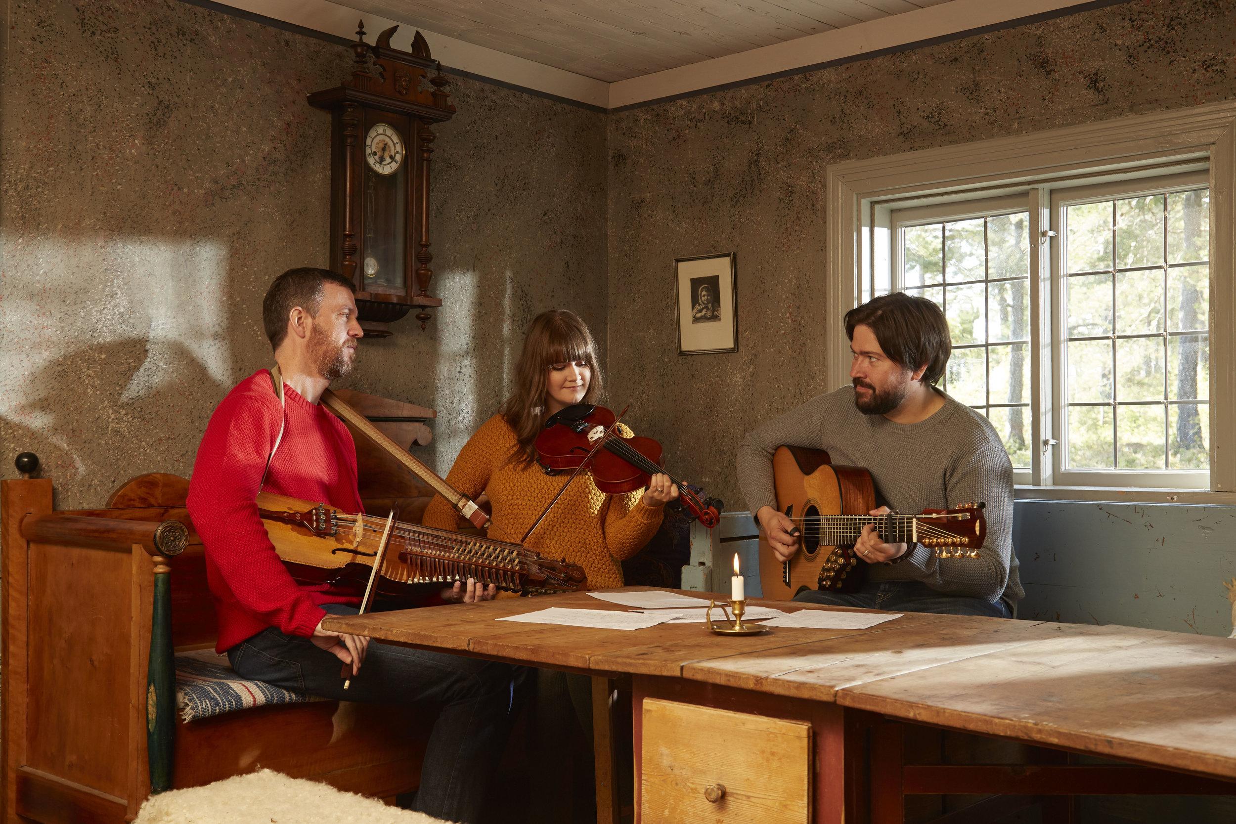 Ahlberg, Ek & Roswall. Foto: Olle Melkerhed
