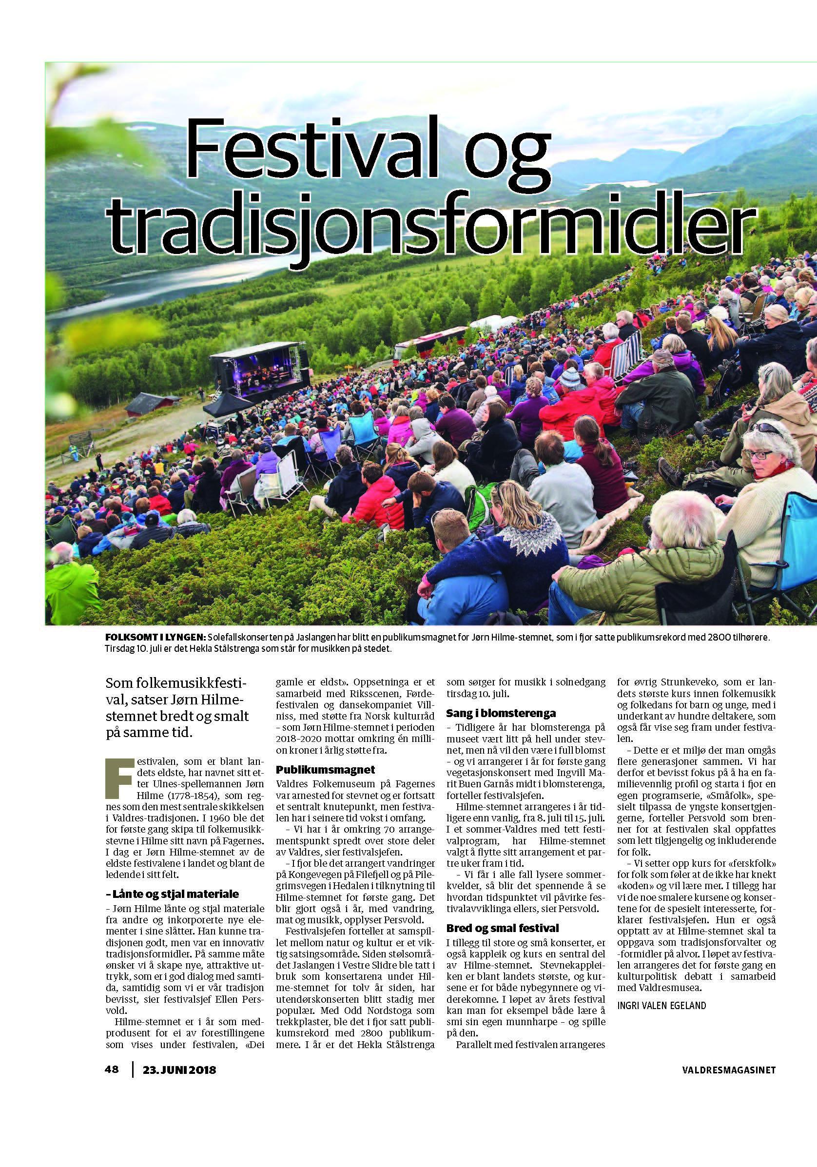 Valdres-Bilag-2018-06-23-side-48-Dei gamle er eldst - HIlme.jpg
