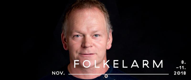 Karl Seglem slepper ny plate - NUNATAK - på folkelarm. Foto: Morten Lindberg.