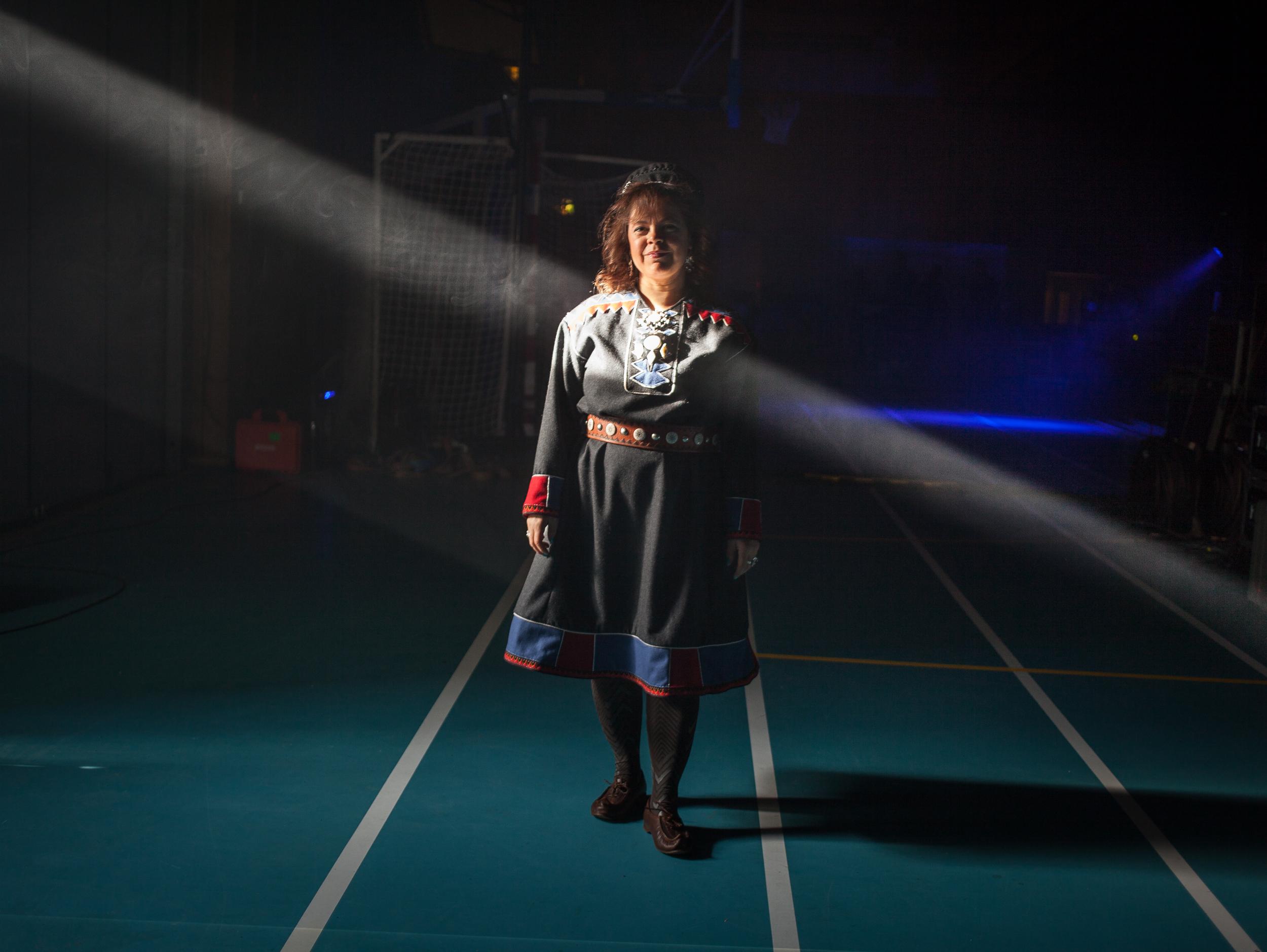 Ulla Pirttijärvi - fotografert av Oddleiv Apneseth i 2017.