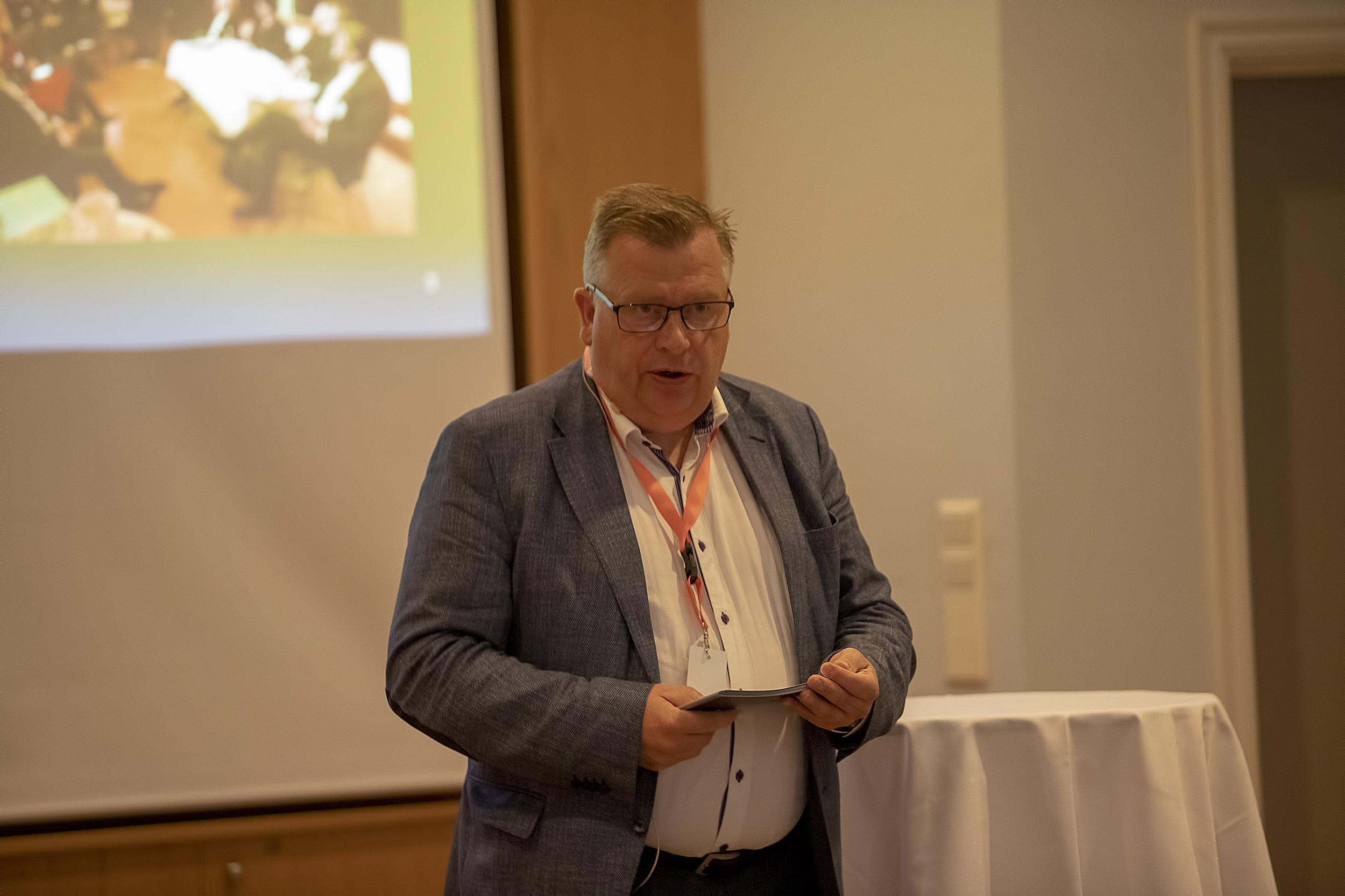 Atle Hamar. Foto: Espen Stensvoll