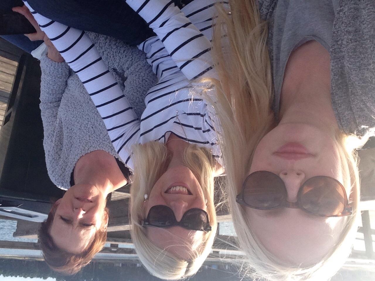Glass i Åhus med syster o systerdotter