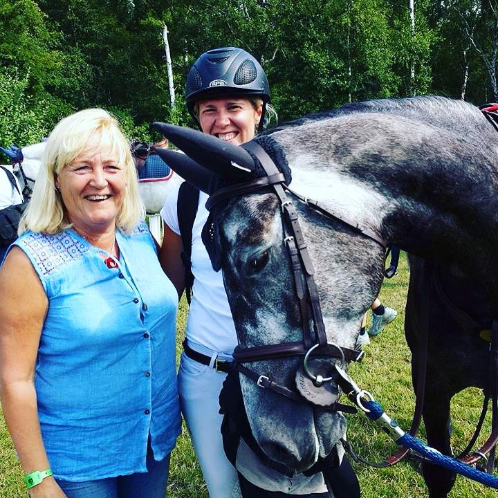 Var bara tvungen att ha med denna härliga bild från i somras med Ice o hans ägare Susanne, den utstrålar verkligen att delad glädje är dubbel glädje