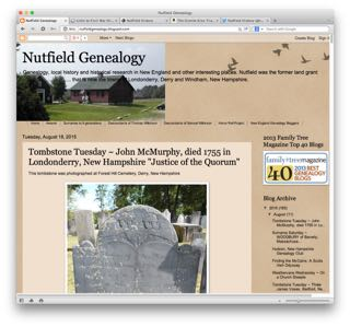 Visit the Nutfield Genealogy website to learn more