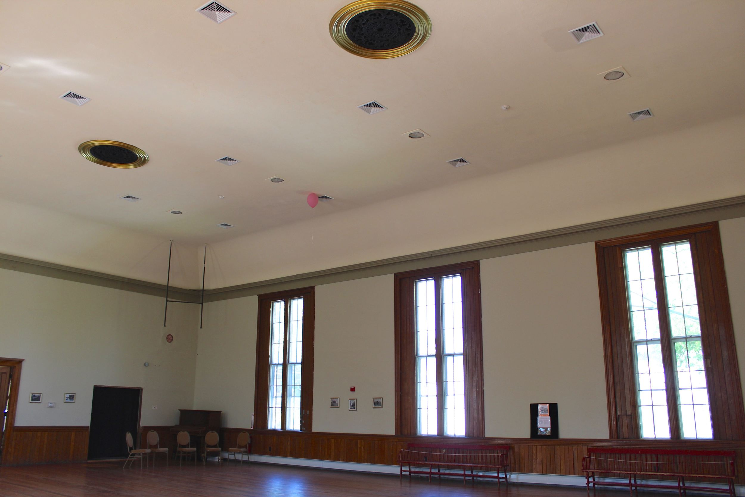 Upper Hall inside, Heritage Day 2012
