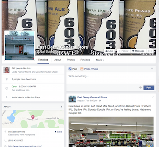 Visit the Store's Facebook page for recent photos, news, and events.