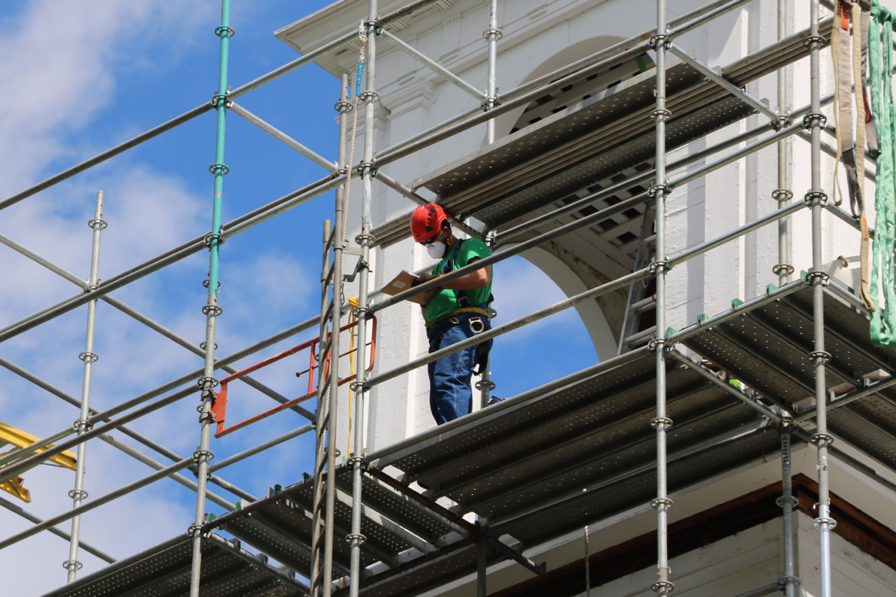 Everything gets extensively documented, part of the requirements for historic rehabilitation.