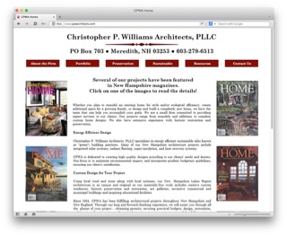 Visit the Christopher P. Williams Architects LLC website to learn more