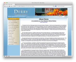 Learn more at the Town of Derry's History Page