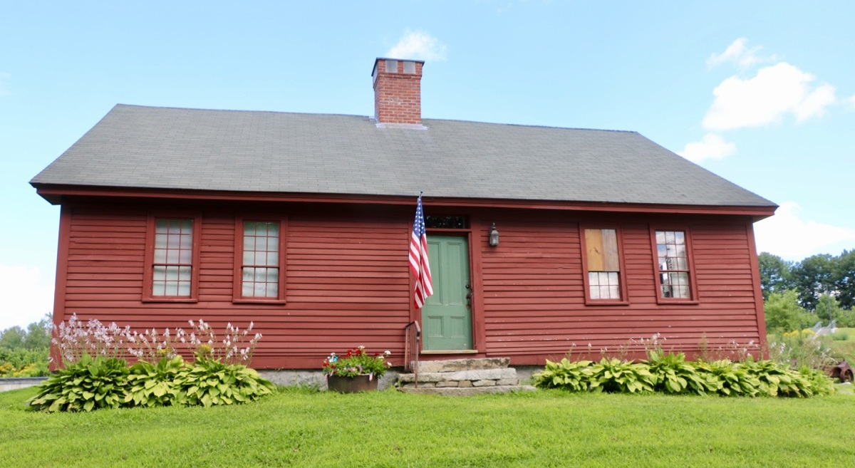 The Morrison House, home of the Londonderry Historical Society Museum.