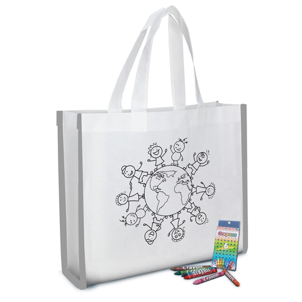 Reflective Coloring Tote Bag With Crayons.jpg