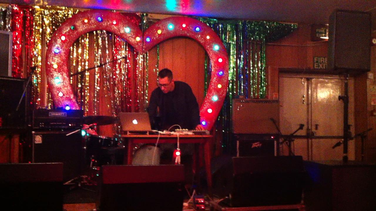 Richard Amp doing an AMP Studio set, London April 2015