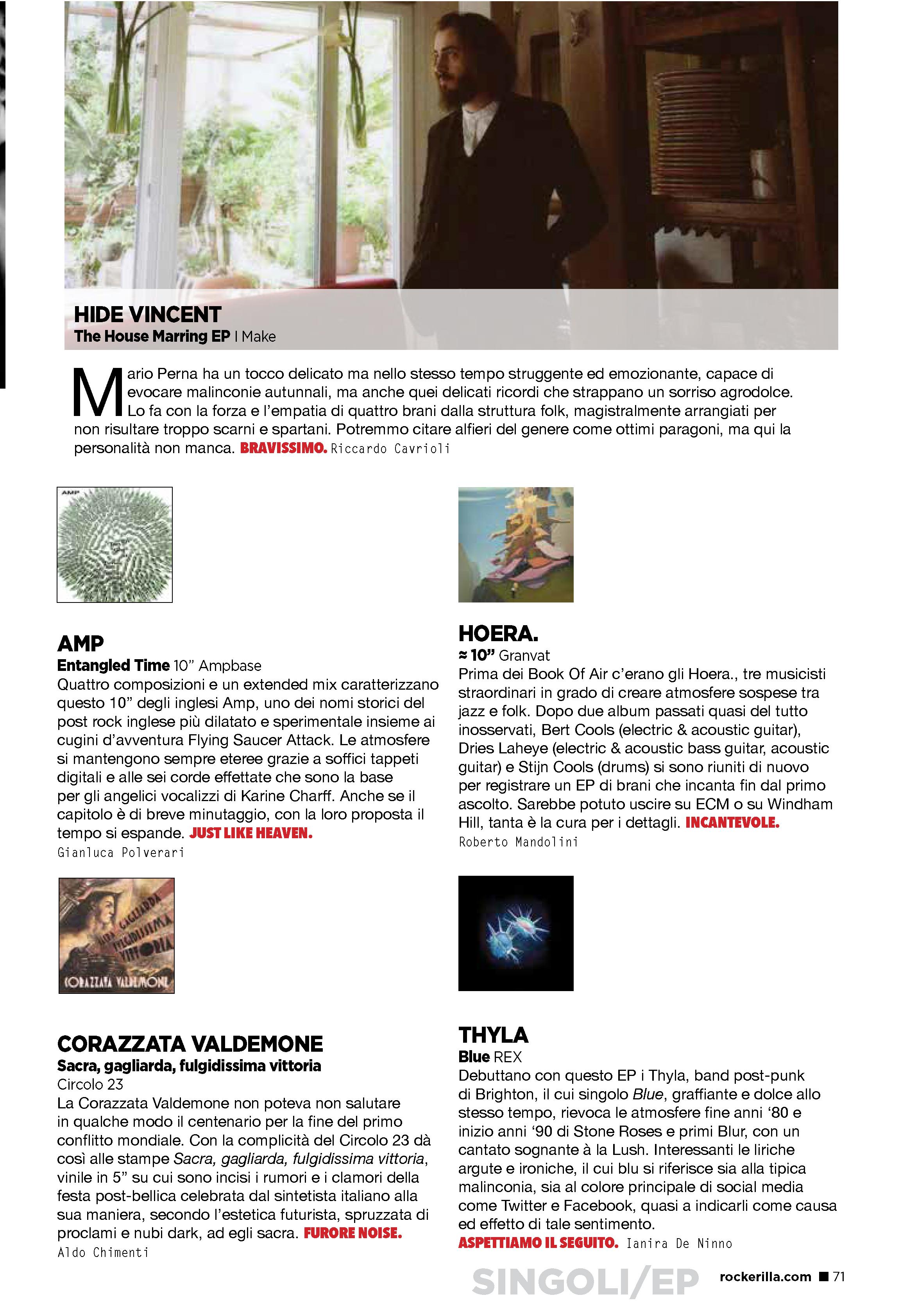Rockerilla Magazine, Italy