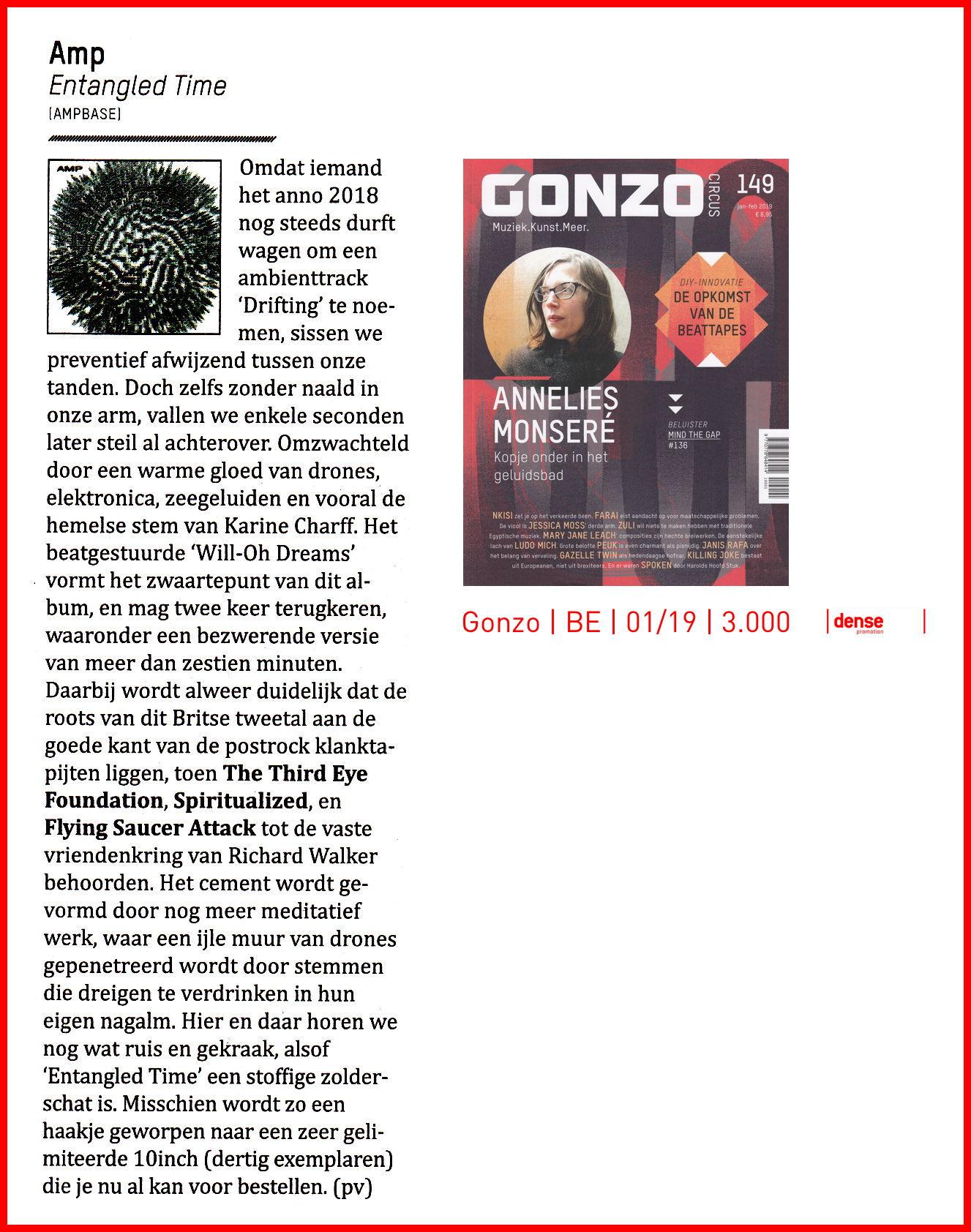 Gonzo Magazine, Belgium/Holland
