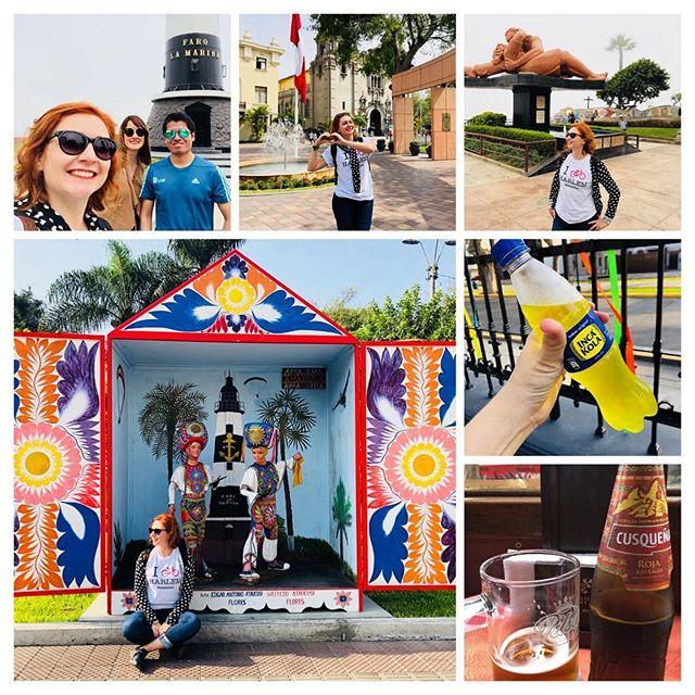 Spotted an I Bike Harlem t-shirt in Lima, Peru! 👀👋🏾😊 ・・・ Ayer se fue un día muy bien vivido en #Lima, #Peru. Se pareció que el día tenia 48 horas! Hici 2 nuevos amigos: Sara, de Valencia, Espanha, y Jorge, peruvian. Ellos me diceron que mi español está muy bien y cuase no creían que soy brasileña, como cuase todas las personas que hablé. He bebido la #cusqueña y la radioativa #inkacola. Encontré brasileños, así como, por coincidencia, en la calle, mi compañera de vuelo que partió de San Pablo. Yo cuase no he dormido, pero no hay problema, pues tengo la muerte entera para dormir, como he aprendido con un australiano que conocí en hostel!  #megustaviajar #megustavivir #viajandosola #dontstop #travelight #corazonabierto #travelblogger #miraflores #perfilviajante #viajaquepassa #olarviajante #ibikeharlem🚲
