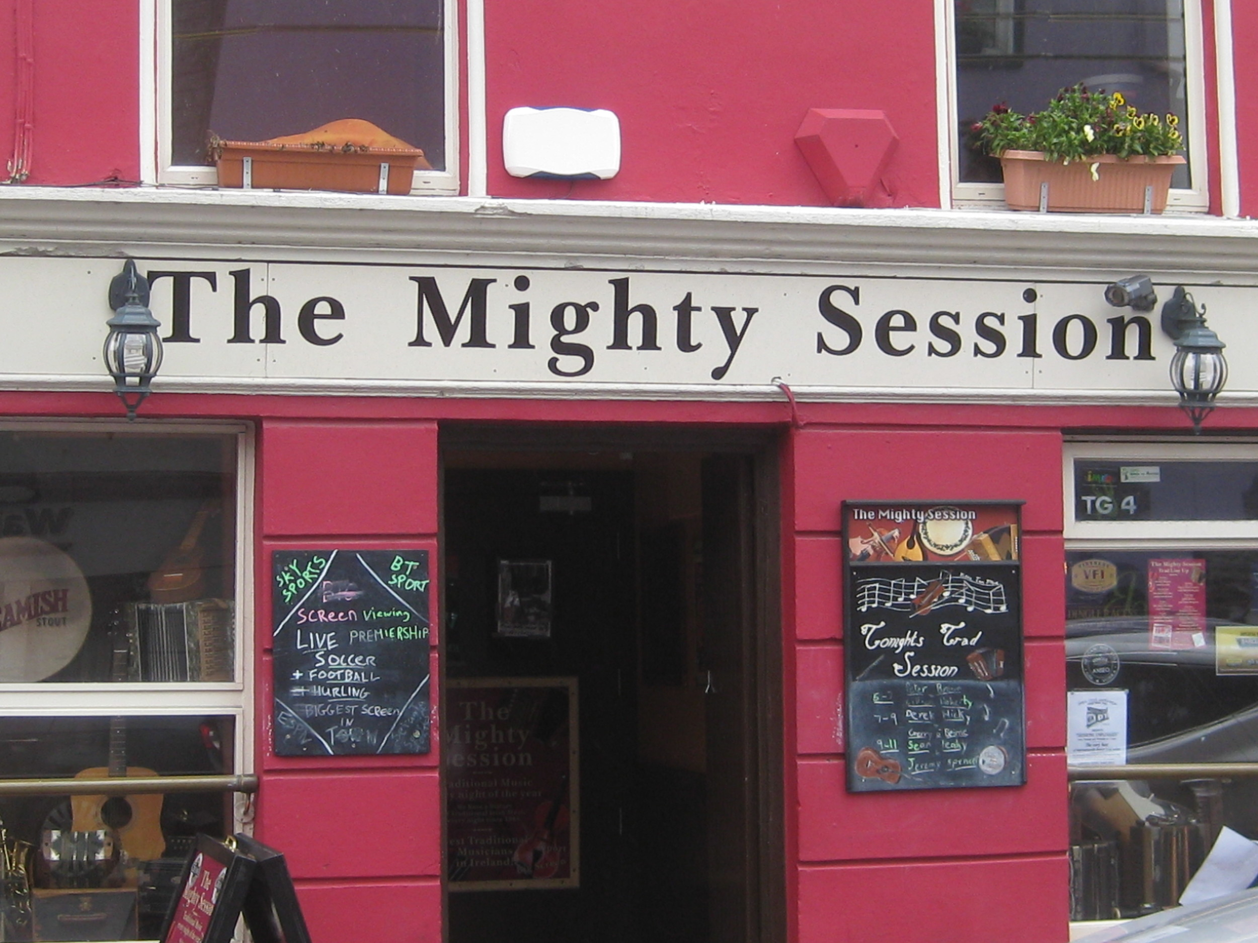 The MIghty Session is a pub in Dingle, Ireland where musicians gather to connect, comfort, enliven and inspire. ..