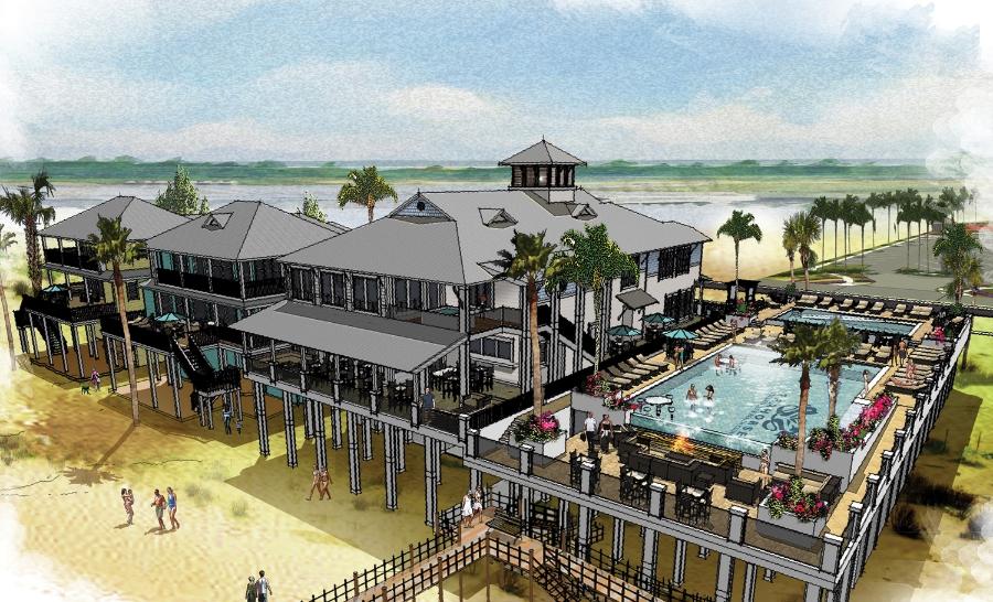 The Seahorse Beach Club, Back