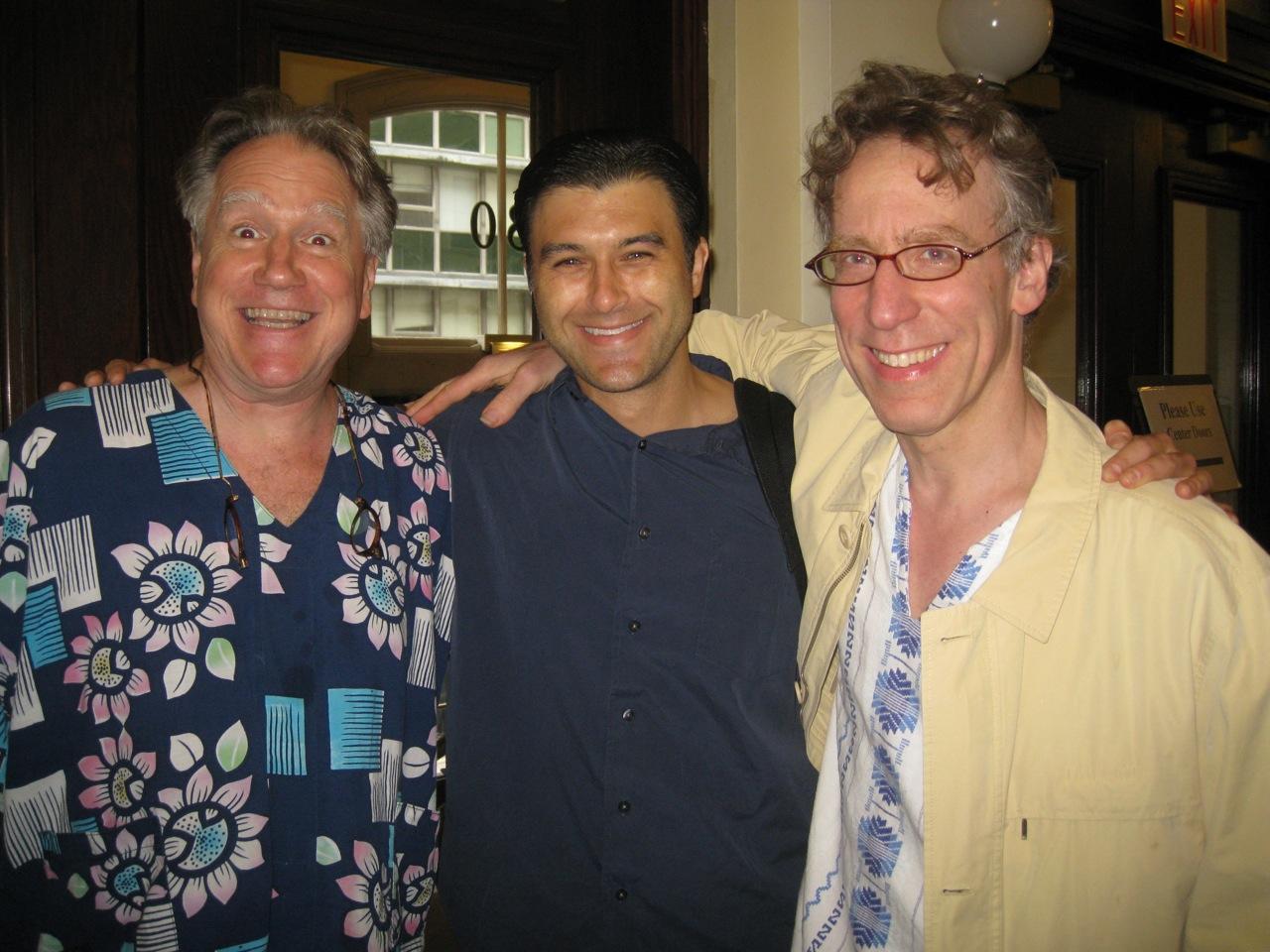 Ben with Leo Garcia and Eliot Fisk