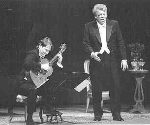 Benjamin with Herman Prey