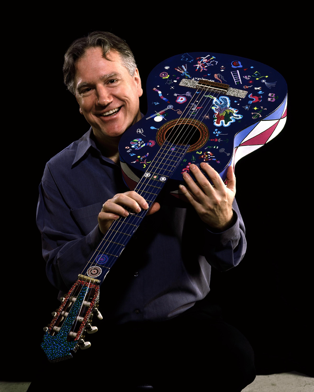 Ben and his Aldo Parisot guitar