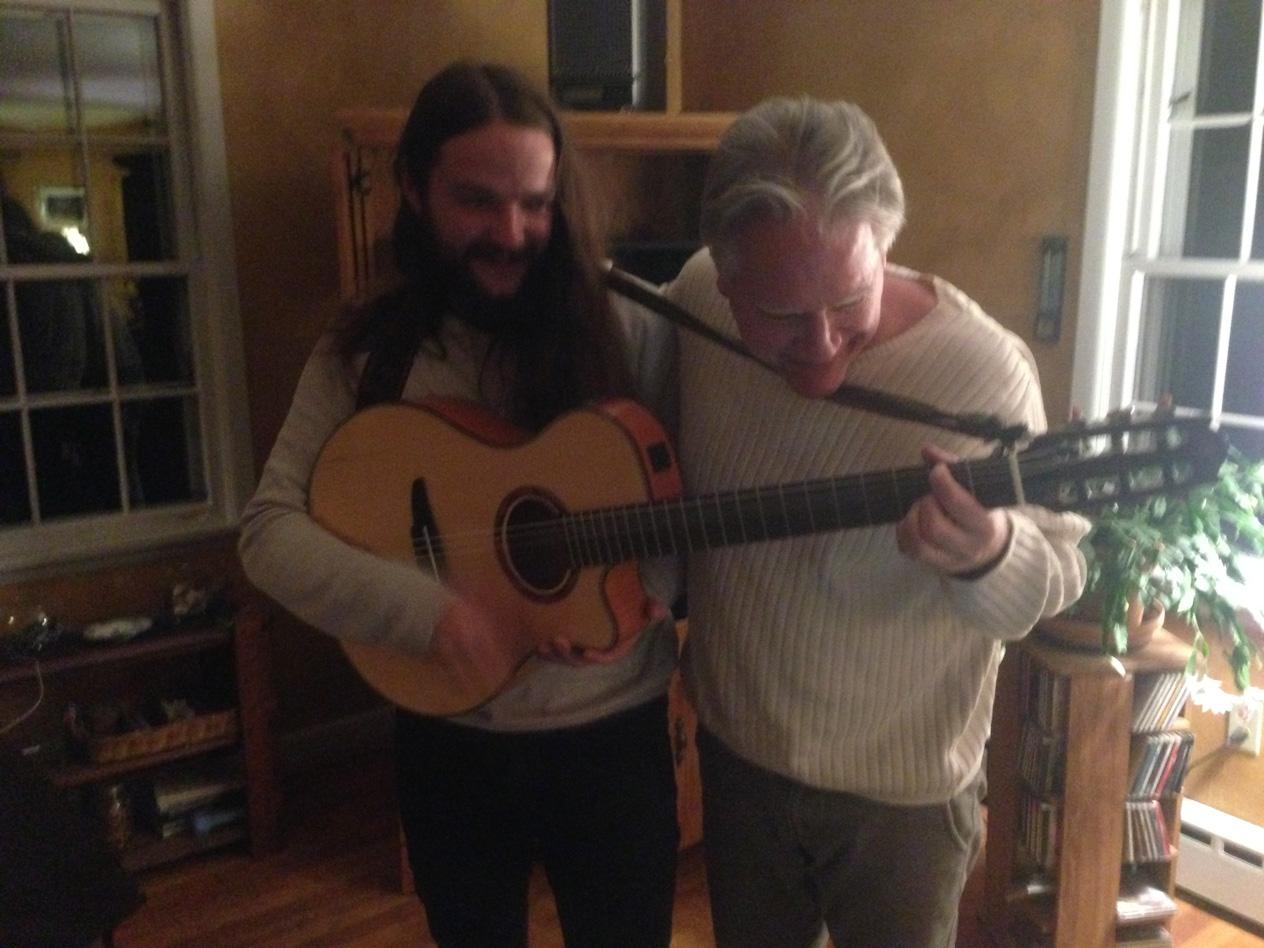 With Chilean Guitarist Nano Stern