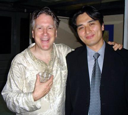 Benjamin with alumni Jangsoo Jun.