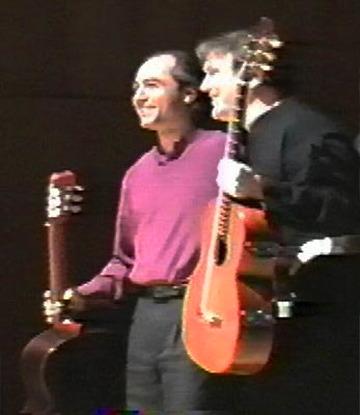 Benjamin with Mesut Ozgen