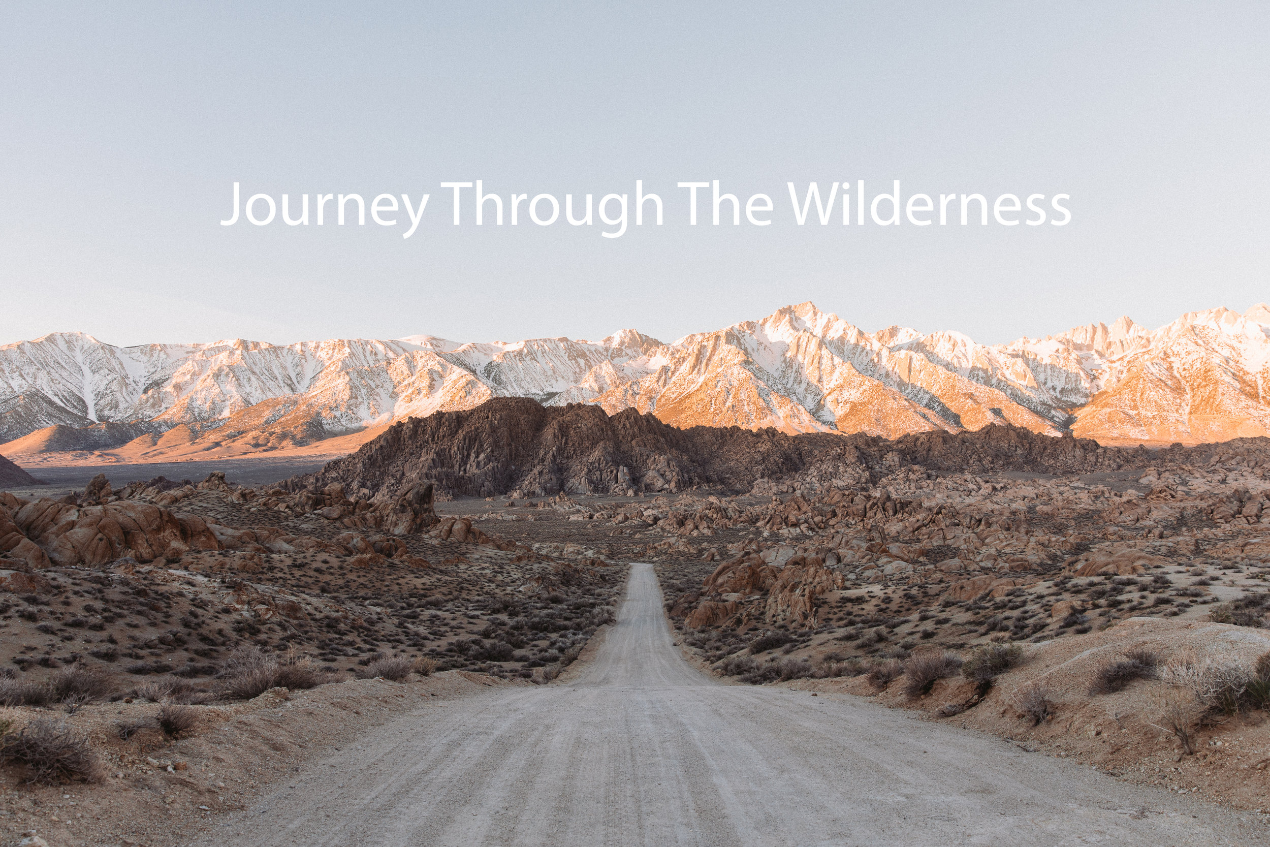 Journey Through the Wilderness - Guest Preacher: Dante StewartExodus 2-3