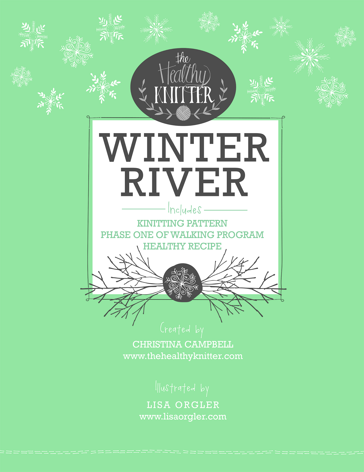 winter river cover