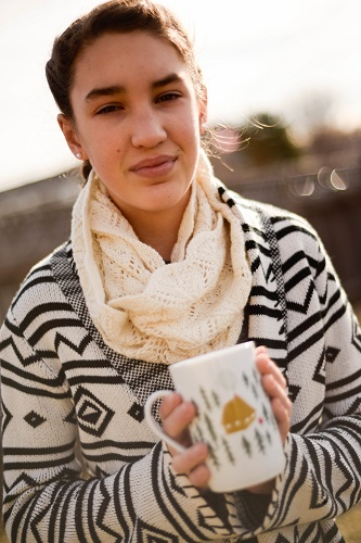 Grab a warm cup of tea in your favorite mug, get cozy on the sofa, and treat yourself to a fun to knit, lace project.
