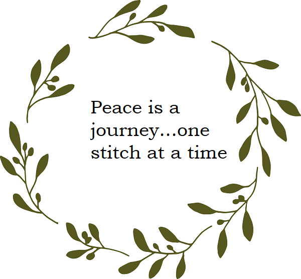 Olive Branches Small Army Green_Solid Wreath_peace is a journey.png