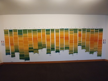 Deception Pass, WA from 1950-2014. On display at Museum of Northwest Art in LaConner, WA, through January 5th. Visit the Surge Climate Art Exhibit if you are in the area.