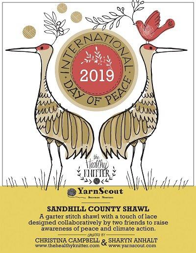 Sandhill County Shawl