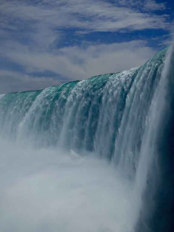 Watershed moments! This Picture was taken at Niagara Falls, ontario, Canada. The sheer volume of water over the falls is astounding.