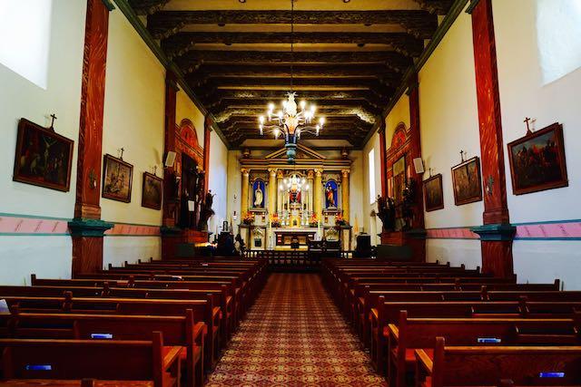 San Buenaventura mission in Ventura, CA