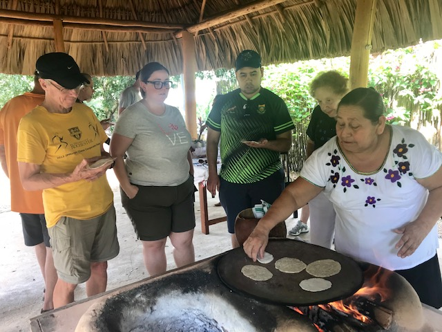 Cooking our tortillas