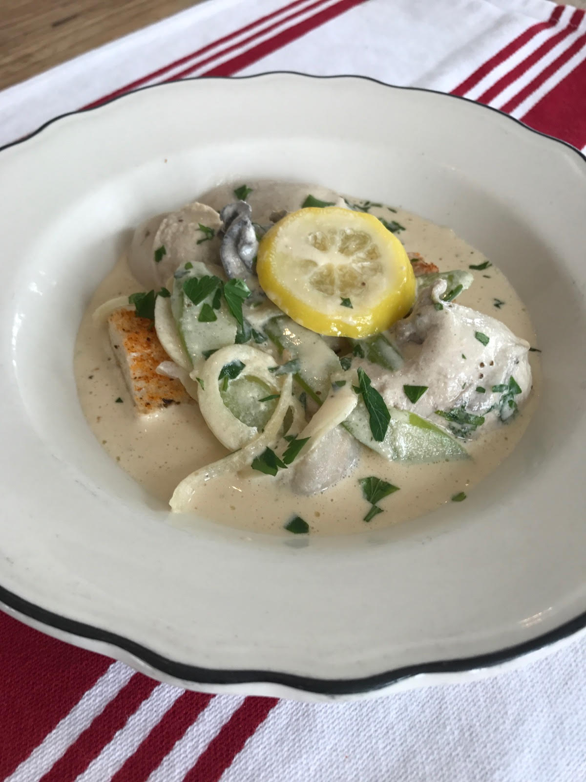 BLUECOAST'S OYSTER STEW