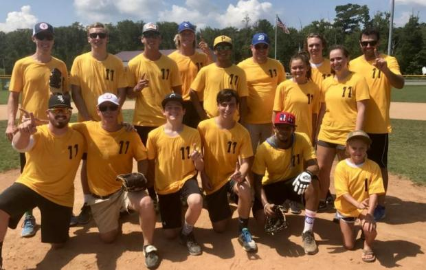 Yellow Fever won SoDel Concepts' third annual Summer Softball Tournament July 19 at Sports at the Beach in Georgetown. The company-wide event attracted more than 200 players and fans. This year there were six teams. SUBMITTED PHOTOS