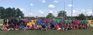 Six teams made up of SoDel Concepts employees and their families took to the fields at Sports at the Beach July 19 for SoDel Concepts' third annual Summer Softball Showdown.